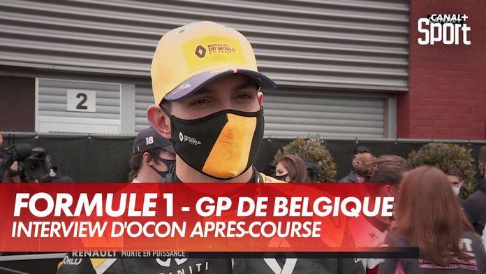 """Ocon : """"On est en train d'arriver"""" : Grand Prix de Belgique"""