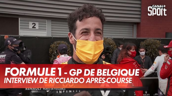 """Ricciardo : """"On aurait aimé avoir une chance pour le podium"""" : Grand Prix de Belgique"""