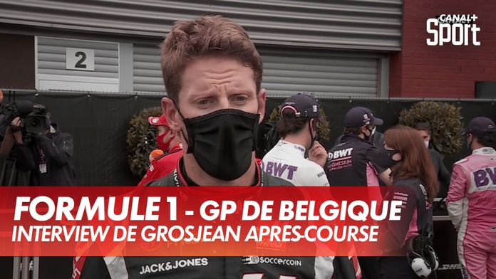 """Grosjean : """"Un meilleur rythme que les Ferrari"""" : Grand Prix de Belgique"""