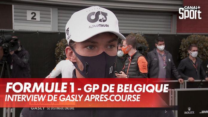 """Gasly : """"C'était à Perez de faire un effort"""" : Grand Prix de Belgique"""