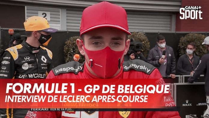 """Leclerc : """"Revoir la lumière du jour au Mugello"""" : Grand Prix de Belgique"""