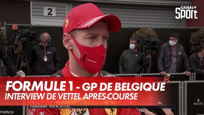 """Vettel : """"Souffert plus que d'habitude"""" : Grand Prix de Belgique"""