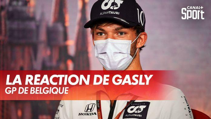 GP de Belgique : la réaction du pilote du jour Pierre Gasly : Grand Prix d'Espagne