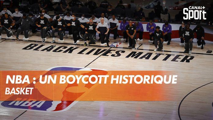 NBA : un boycott historique : Basket