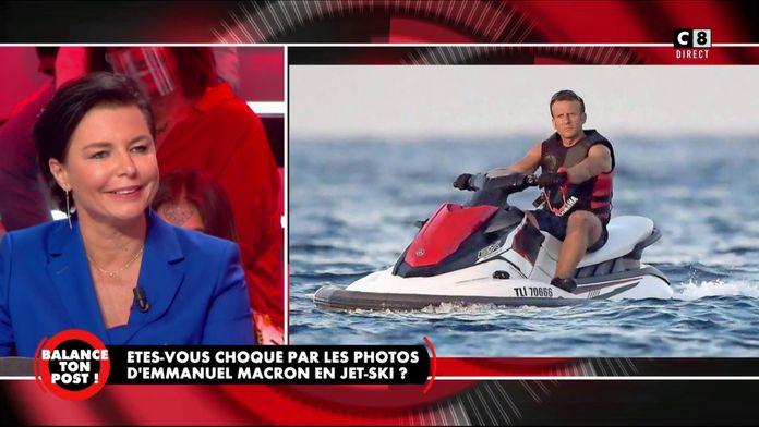 """Laurence Sailliet à propos des vacances d'Emmanuel Macron : """"Heureusement qu'il a des loisirs !"""""""