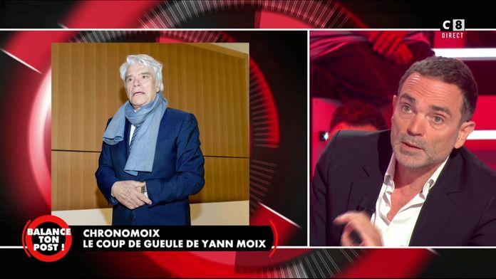 Le chronomoix : Yann Moix pousse un coup de gueule et défend Bernard Tapie annoncé mort