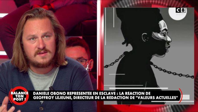 """Le directeur de la rédaction de """"Valeurs actuelles"""" revient sur la publication de Danièle Obono"""