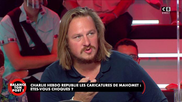 """Geoffroy Lejeune : """"Charlie Hebdo est une rédaction très courageuse, ils ont peur de rien !"""""""
