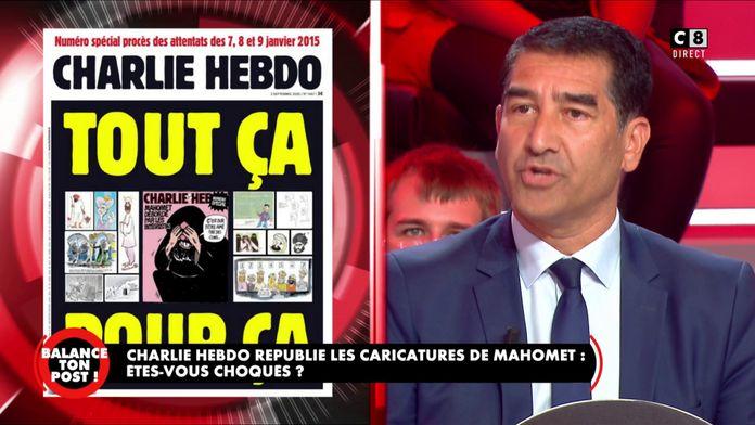 """Karim Zeribi : """"La dernière publication de Charlie Hebdo est de la provocation"""""""