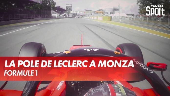 La pole de Charles Leclerc à Monza 2019 en Onboard : Grand Prix d'Italie