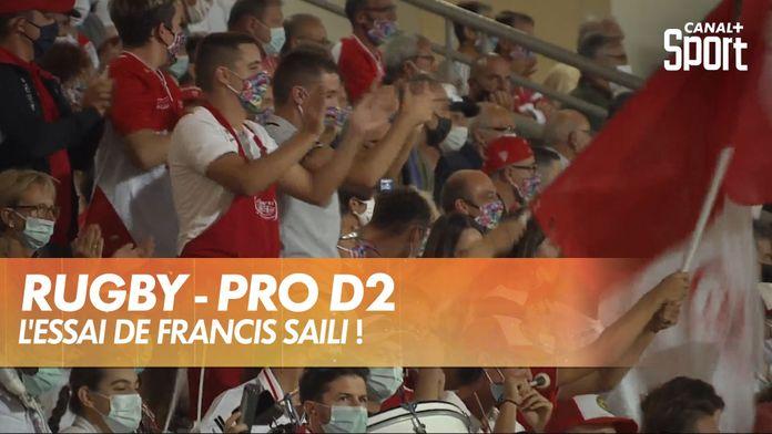 Essai de Francis Saili ! : Rugby
