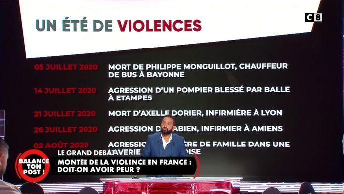 Montée de la violence en France : Doit-on avoir peur ?