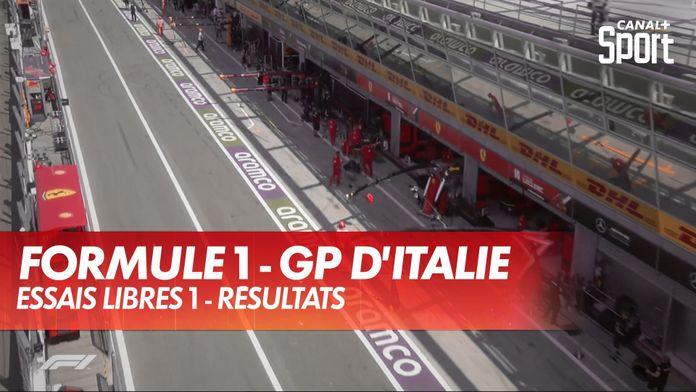GP d'Italie - Essais Libres 1 : Grand Prix d'Italie