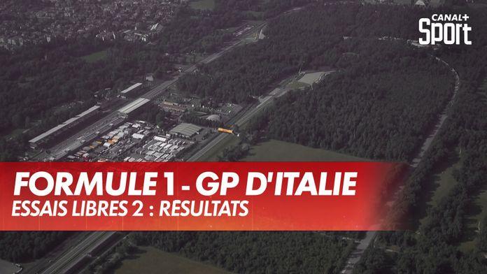 GP d'Italie - Essais Libres 2 : Grand Prix d'Italie