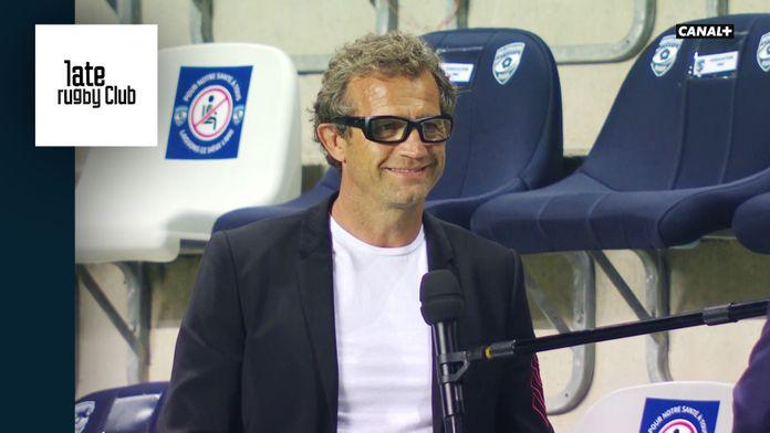 """""""Beaucoup de joie"""" - Interview de Fabien Galthié après la reprise du Top 14 : Late Rugby Club"""