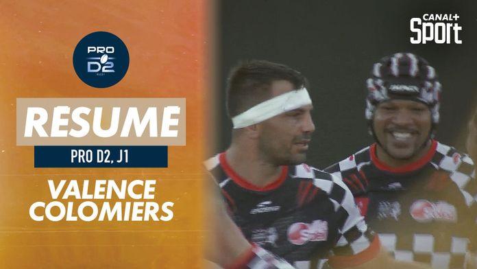 Pro D2 : Le résumé de Valence Romans / Colomiers : Pro D2 - 1e journée