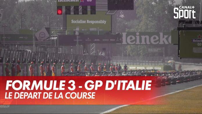 Le départ de la course : GP d'Italie Formule 3