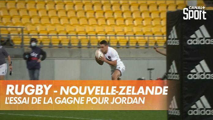 Jordan donne la victoire au Sud : Rugby - Nouvelle-Zélande
