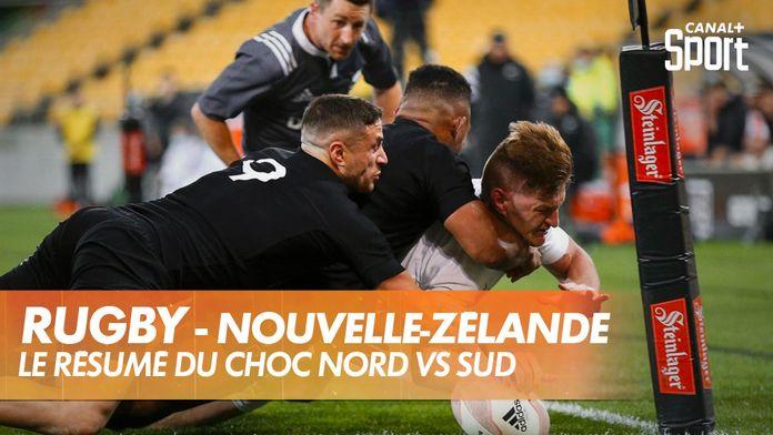 Le résumé de Nord / Sud : Rugby - Nouvelle-Zélande