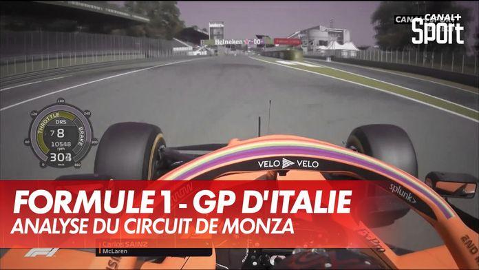 Un tour de Monza avec Carlos Sainz : Grand Prix d'Italie