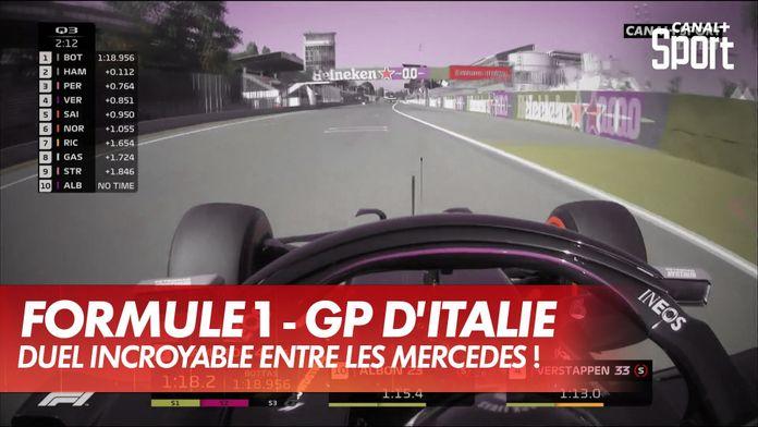 Hamilton en pole avec le record de la piste ! : Grand Prix d'Italie