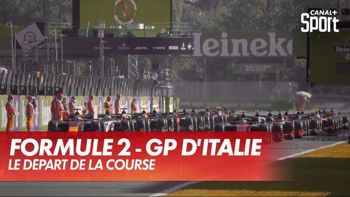 Le départ de la course : GP d'Italie Formule 2
