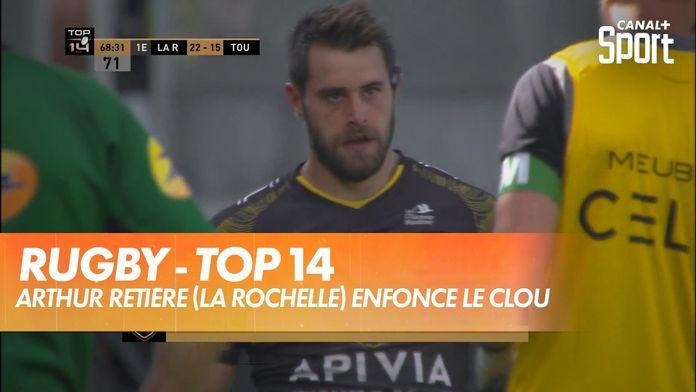Arthur Retière y va de son essai pour le Stade Rochelais : TOP 14