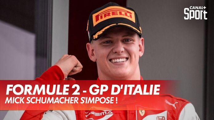 Mick Schumacher impérial ! : GP d'Italie Formule 2