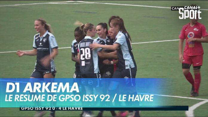Le résumé de GPSO Issy 92 / Le Havre : D1 Arkema