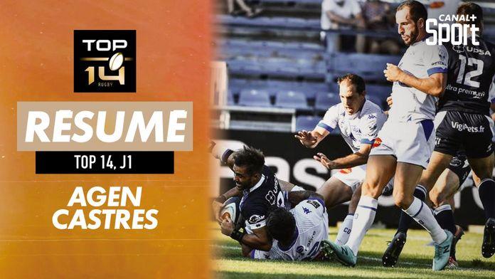 Le résumé Jour de Rugby d'Agen / Castres : Jour de Rugby - TOP 14