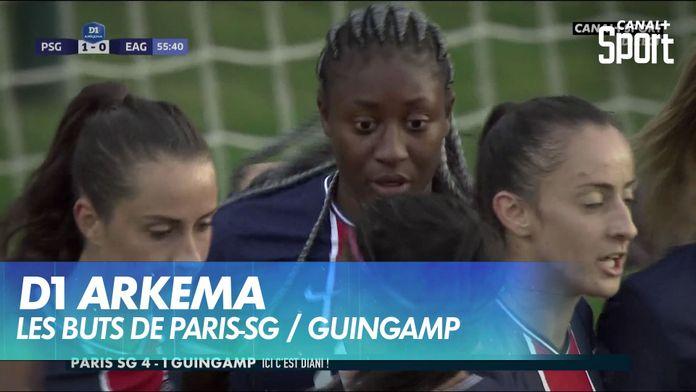 Les buts de Paris-SG / Guingamp : D1 Arkema