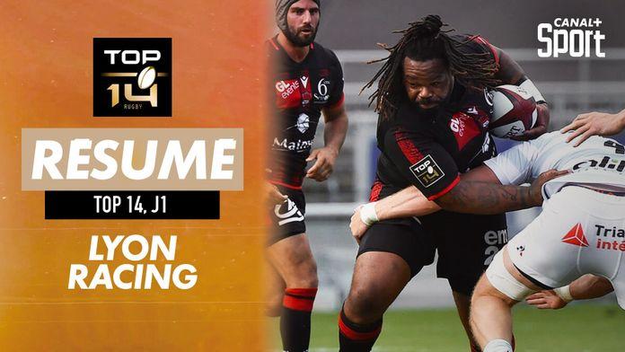 Le résumé Jour de Rugby de Lyon / Racing : Jour de Rugby - TOP 14