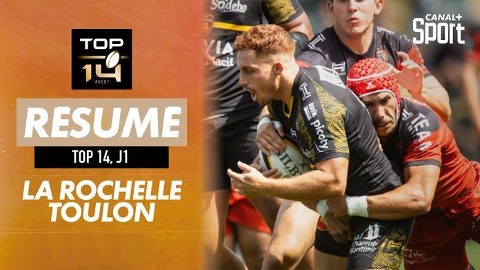 Le résumé Jour de Rugby de La Rochelle / Toulon : Jour de Rugby - TOP 14