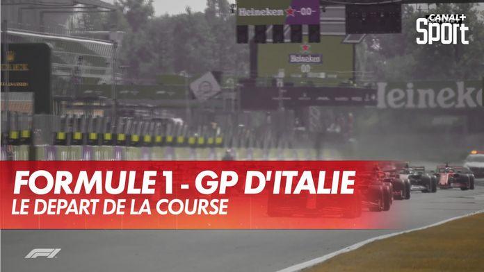 Le départ de la course : Grand Prix d'Italie