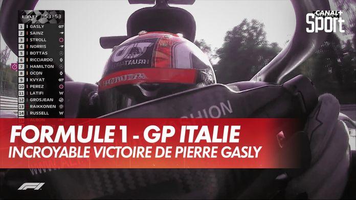 Incroyable victoire de Pierre Gasly : Grand Prix d'Italie