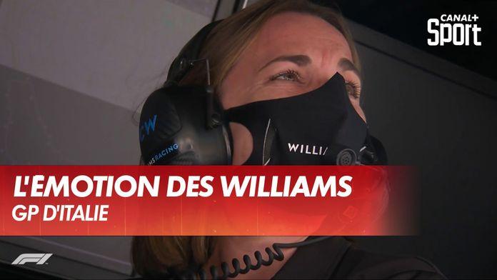 L'émotion des Williams après le Grand Prix : Grand Prix d'Italie