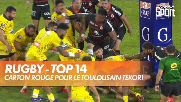 Carton rouge pour le Toulousain Tekori : TOP 14