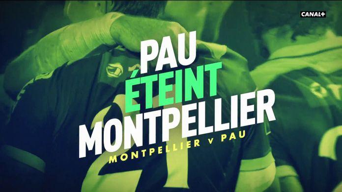 Le résumé CRC de Montpellier / Pau : Canal Rugby Club