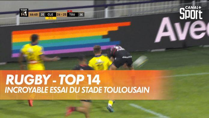 Incroyable essai du Stade Toulousain : TOP 14