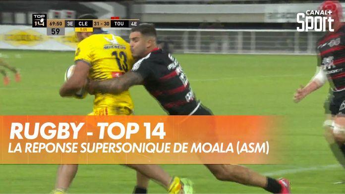La réponse supersonique de Moala (ASM) : TOP 14