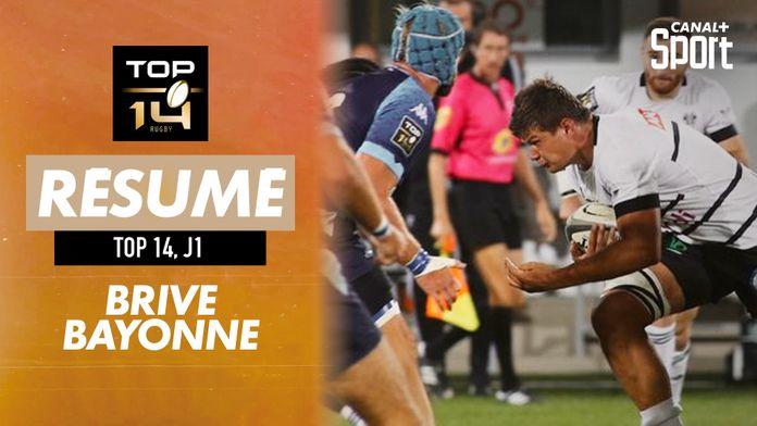 Le résumé (version courte) de Brive / Bayonne : TOP 14