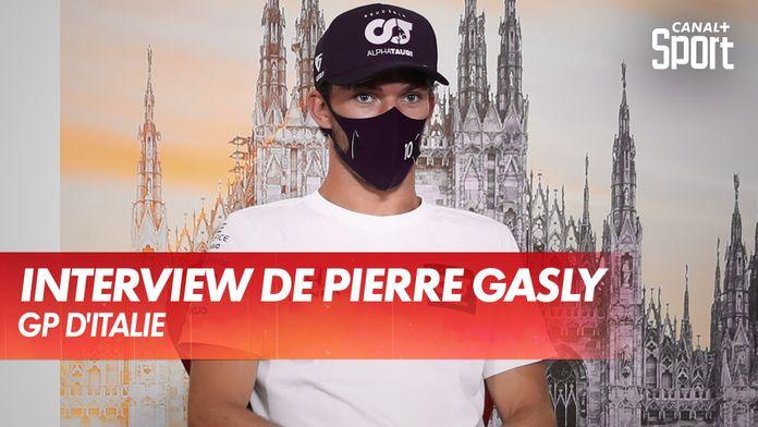 Interview exclusive de Pierre Gasly après sa victoire : Grand Prix d'Italie