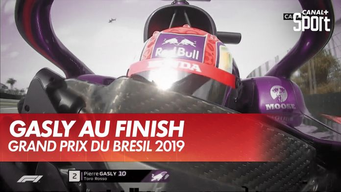 Pierre Gasly une progression constante : Formule 1