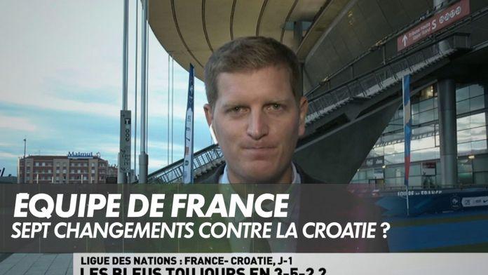 Sept changements pour Didier Deschamps contre la Croatie ?