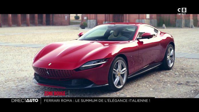 Ferrari Roma : le summum de l'élégance italienne !