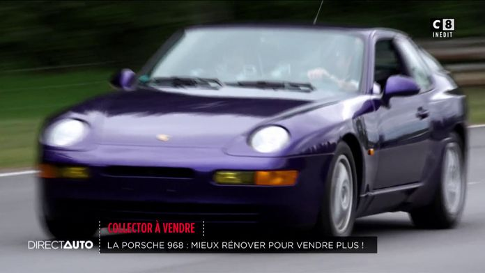 Collector à vendre : la Porsche 968, mieux rénover pour vendre plus !