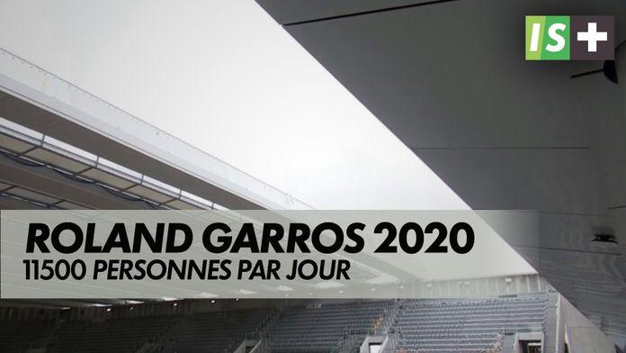 11500 personnes par jour autorisées : Roland Garros
