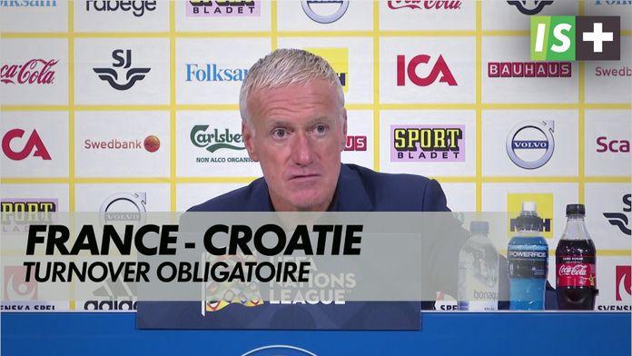 Turnover obligatoire face aux croates : Ligue des nations : France - Croatie
