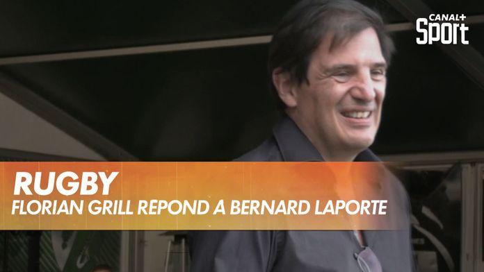 Florian Grill répond à Bernard Laporte