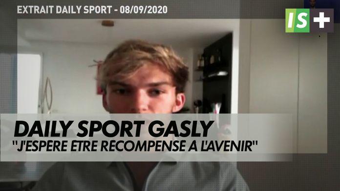 """Pierre Gasly : """"J'espère être récompensé à l'avenir"""" : Daily Sport"""
